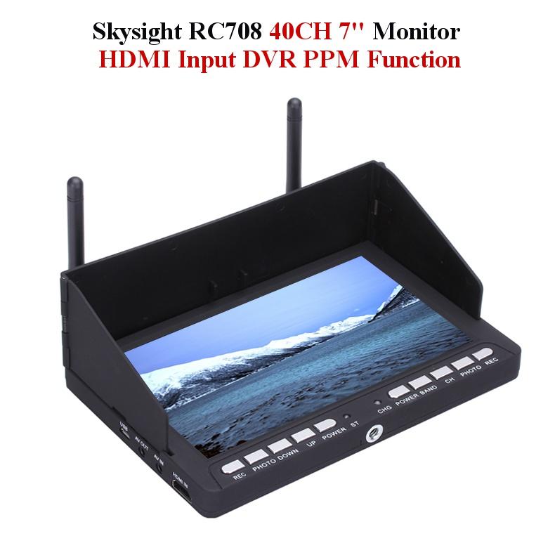 Skysight RC708 5.8G 40CH Diversity Rx 7 Inch Monitor HDMI Input DVR Ppm Support Fatshark ImmersionRC ghazala naureen and farzana naqvi genetic diversity in triticum groups under saline stress