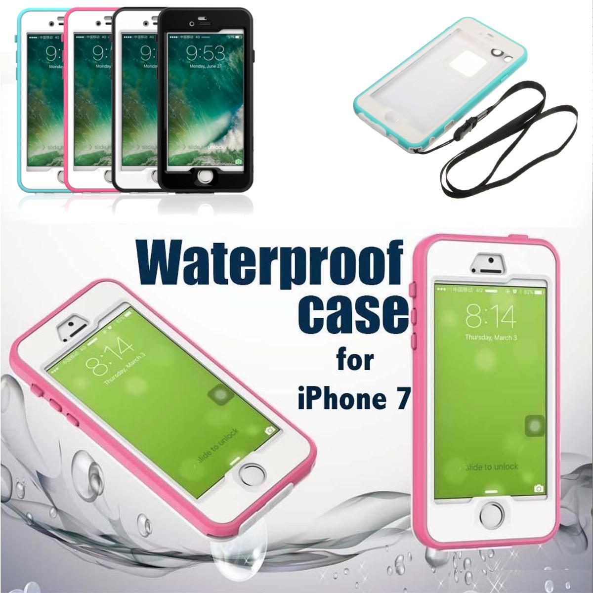 アップルのiPhone 7用防水ダストショックスノープルタッチテルケースカバー