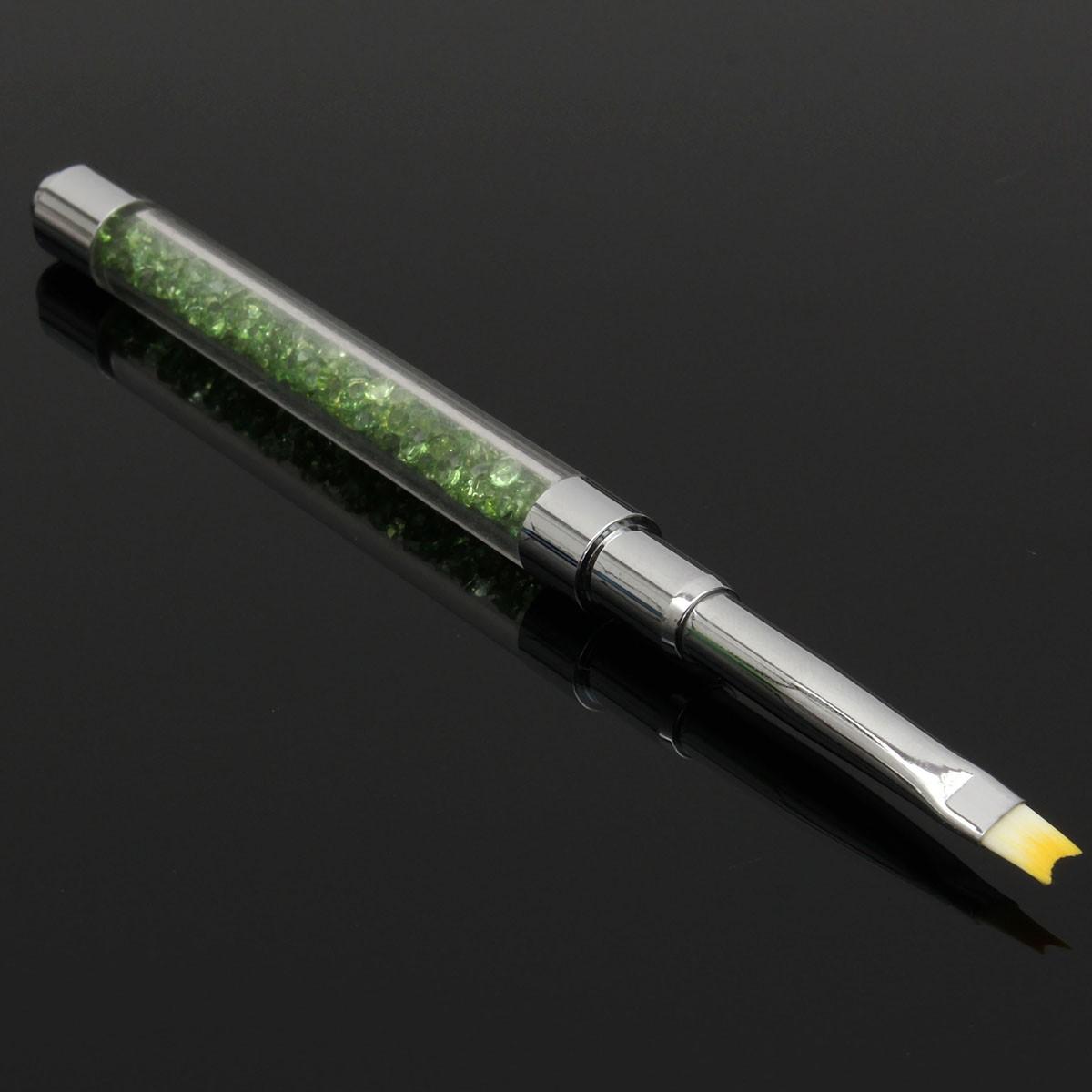 Cristal acrylique fran ais nail art dessin peinture poudre brosse stylo manucure outil chez - Painting tool avis ...