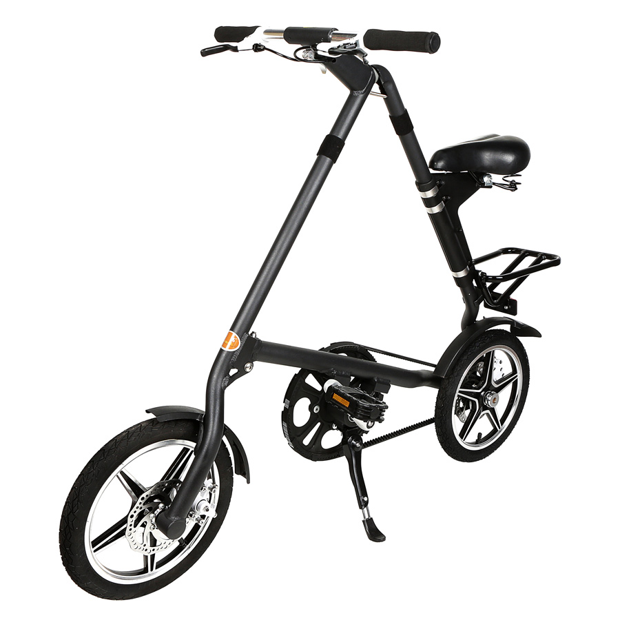 folding bike mini bicycle 16inch wheel smallest aluminium. Black Bedroom Furniture Sets. Home Design Ideas