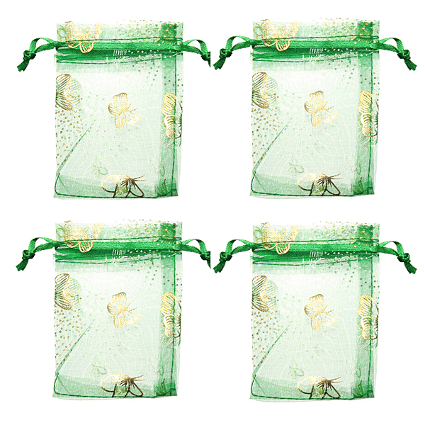 ... Christmas Stocking Stuffer Organza Wedding Favor Gift Candy Pouch Bags