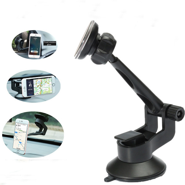 Universal 360Rotable Car Magnetic Sucker Cup Holder For Smart Phone GPS