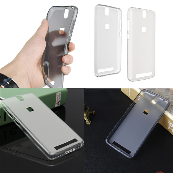 Buy Ultra Thin TPU Soft Crystal Clear Matte Case Cover For Elephone P8000