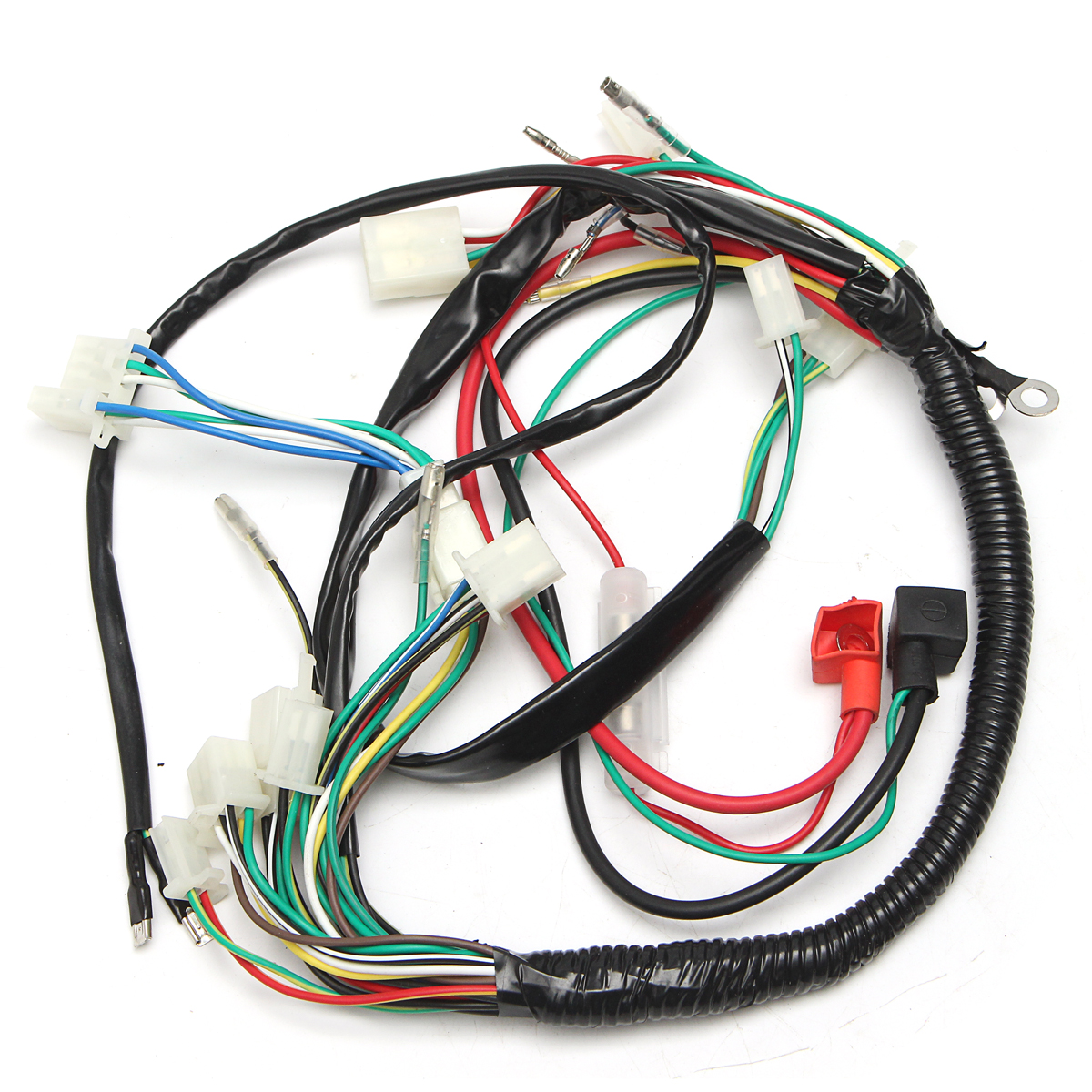 alarm system cdi wiring harness remote start switch high security for electric alex nld