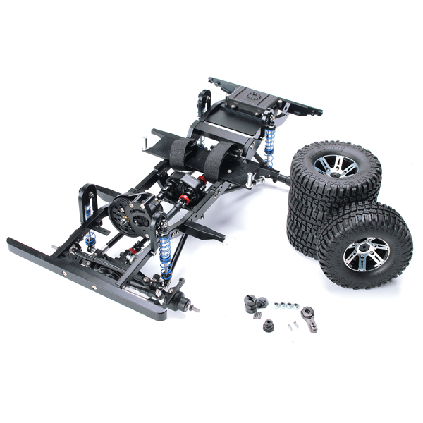 AUSTAR D90 RC Crawler Car Frame D9001 Without Electronic Components - Photo: 5