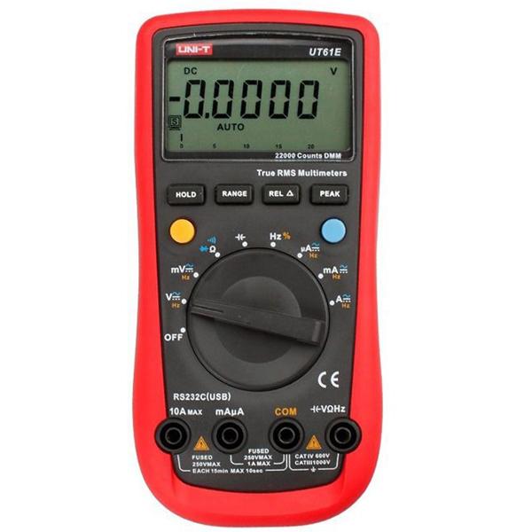UNI-T UT61E Auto Range Digital Multimeter AC/DC Volt Amp ...