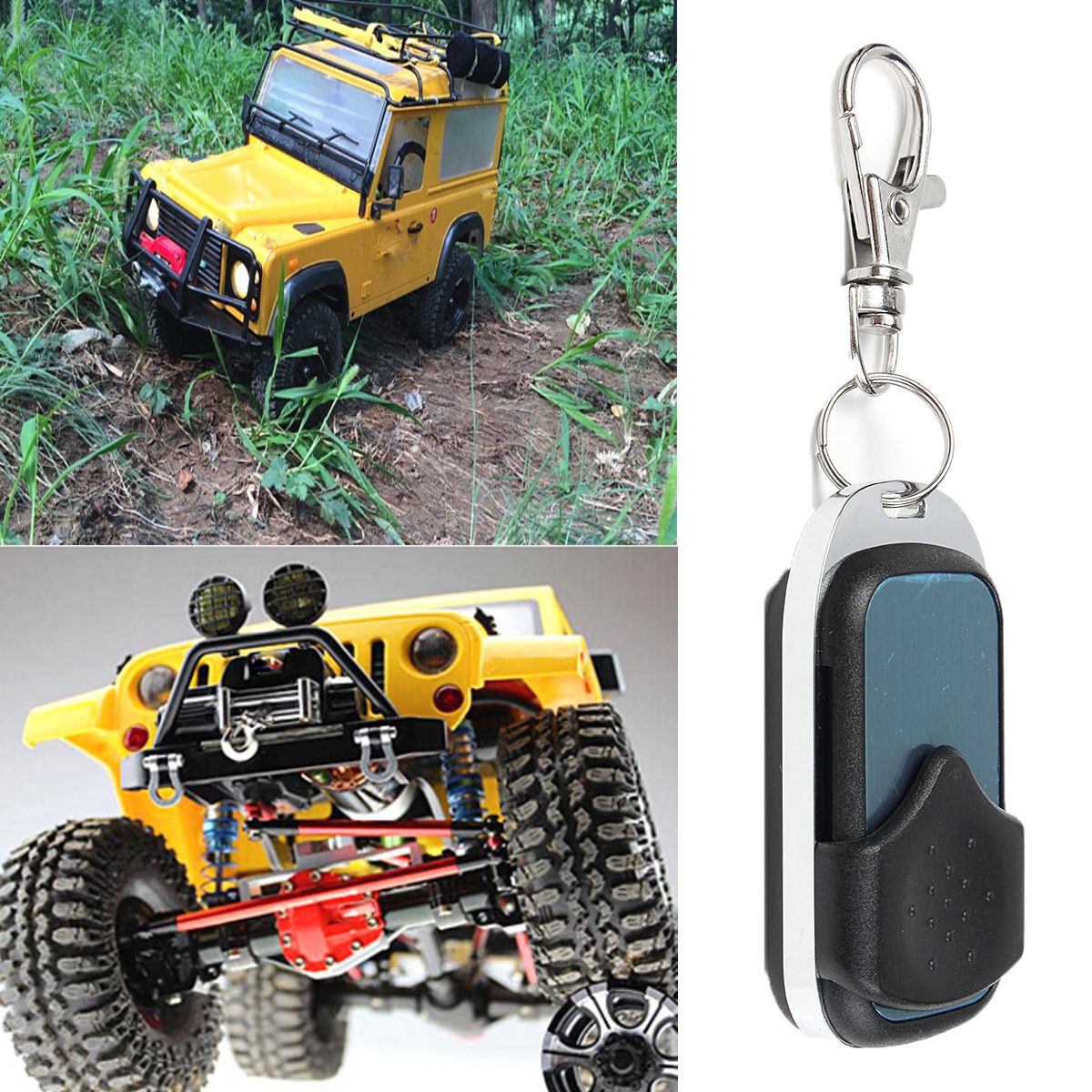 Wireless Winch Controller For RC Car Crawler Part Remote Control Car Accessories  - Photo: 1