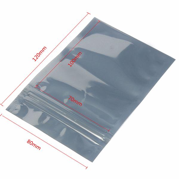 70x100mm ESD Anti-Static Shielding Zip Lock bag