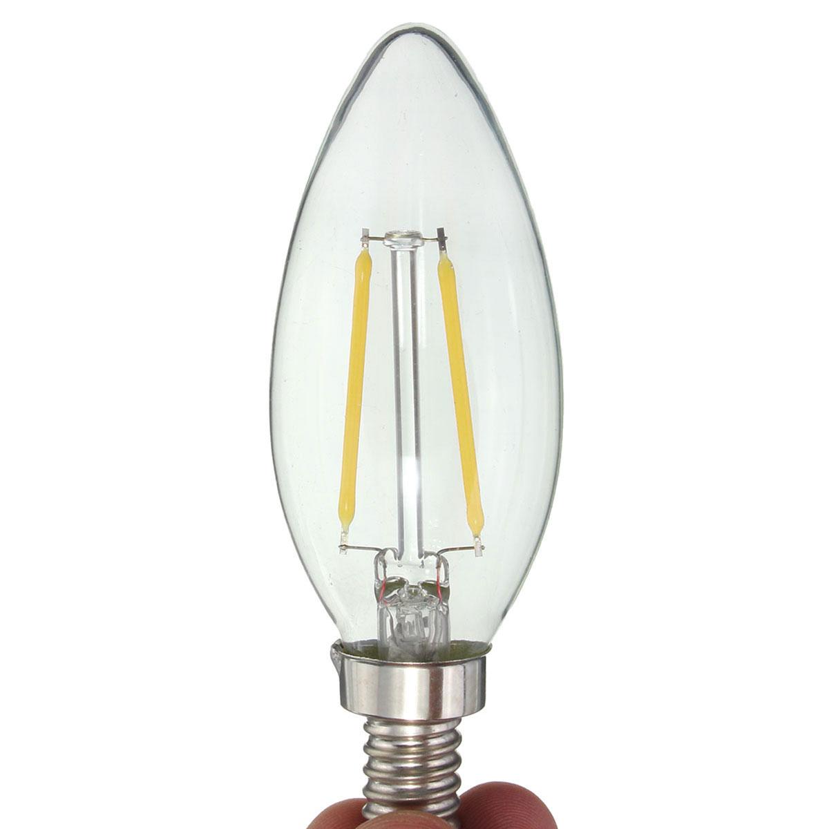 E12 2w Cob Edison Filament Bulb Led Candle Light Lamp Bulb Ac110v Alex Nld