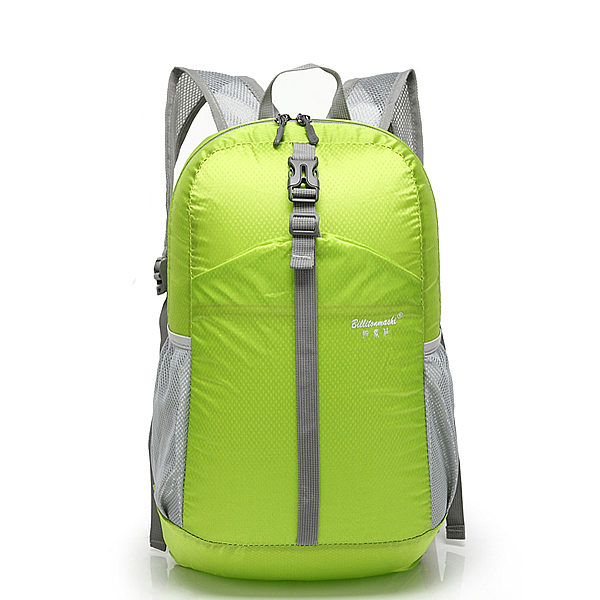 Women Men Nylon  Backpack Lightweight Waterproof Hiking Outdoor Sports Rucksack