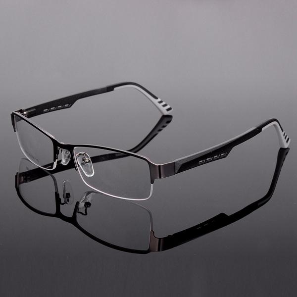 TR90 Half Rimless Reading Glasses Eyeglasses Eyewear Frame ...