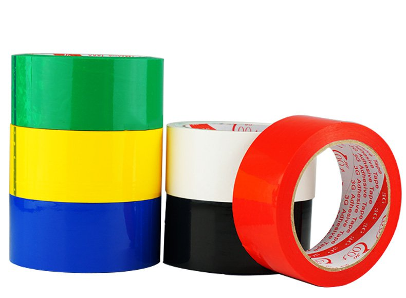 Red Blue Green White Yellow Black Color Adhesive Tape For RC Airplane Painting 45mmx40m - Photo: 1
