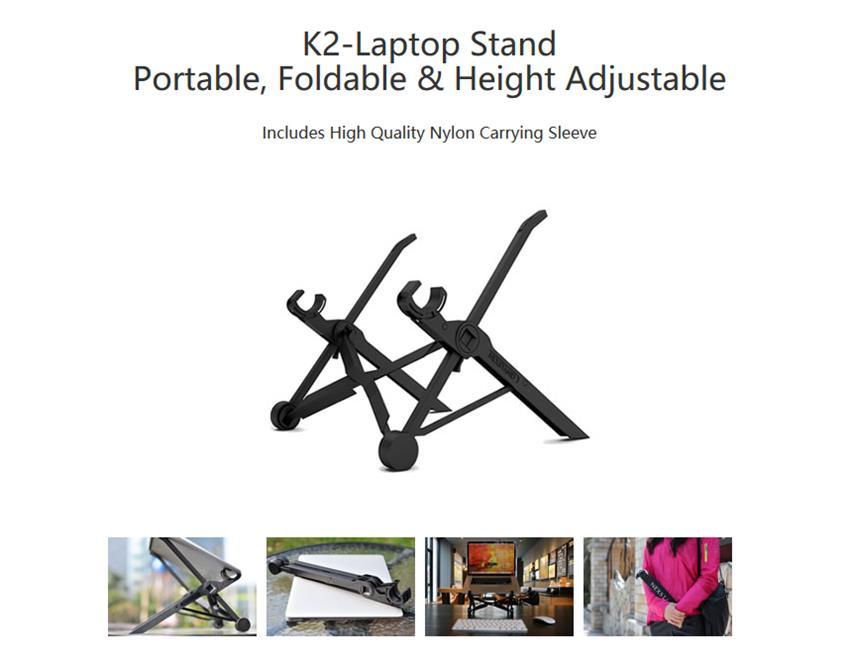 NEXSTAND™ K2 Laptop Stand Portable Adjustable Eye-Level Ergonomic for Apple MacBook PC Laptop 26