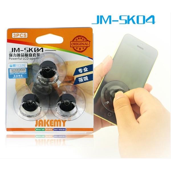 JAKEMY JM-SK04 Strong Suction Cups Set for Cellphone Tablet 3PCS 11491