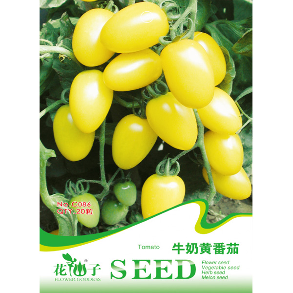 20PCS Lycopersicon Yellow Pear Tomato Vegetable Seeds от Banggood INT