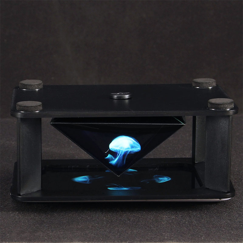 Mokiki 3D Holographic Mobile Phone Box Box Surrounded by a 360-Degree Virtual - Photo: 2