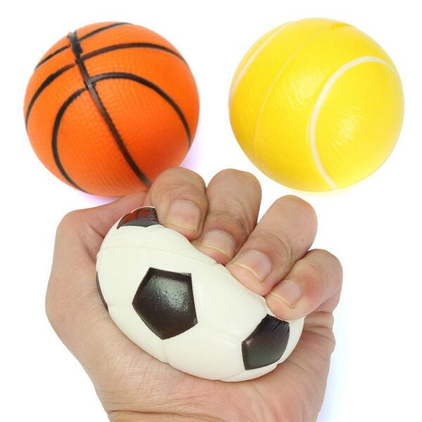 Buy 6.3cm Fitness Hand Wrist Exercise Stress Relief Squeeze Foam Ball