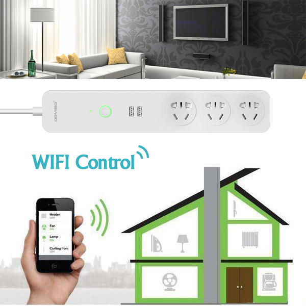 Buy ORVIBO COCO USB WiFi Smart Home Extension Sockets Switches Remote Control Timing Plug Power Strip