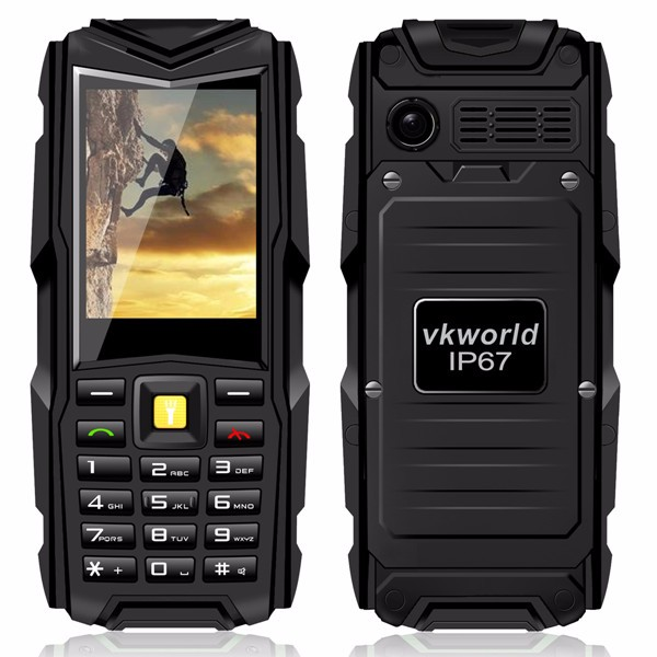 Vkworld Stone V3 5200mAh Waterproof Dustproof Dropproof Dual SIM Mobile Phone