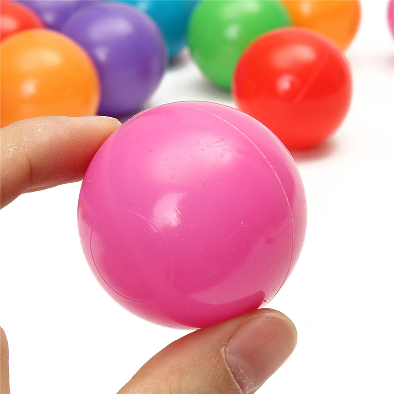 200PCS 4cm Soft Plastic Ocean Ball Secure Kid Pit Toy Swim Colorful Ball Toy - Photo: 6