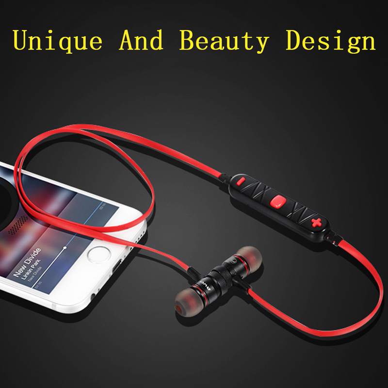 SPORT Wireless Bluetooth Headset Headphone Stereo Earphone For iPhone 6/6s Plus Samsung LG wireless bluetooth earphone sport stereo headphones ear hook earphone headphone headset sports auriculares bluetooth earpiece