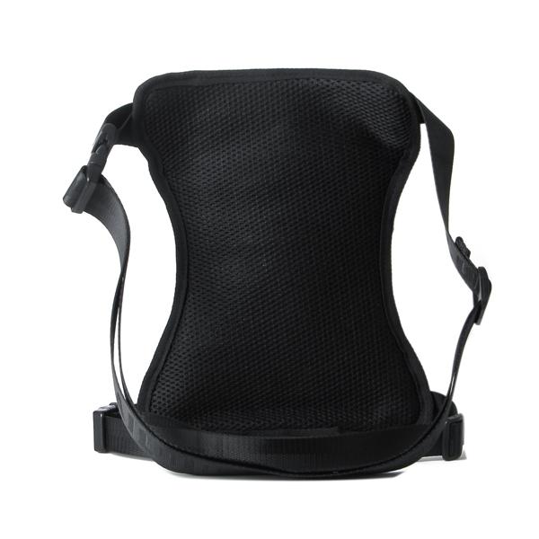Men Bag, Nylon Sport Black, Climbing Sport Outdoor, Leg Waist Bag