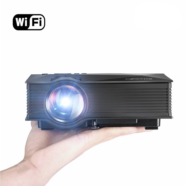 Blitzwolf bw mp1 mini portable wifi wireless video led for Wireless mini projector
