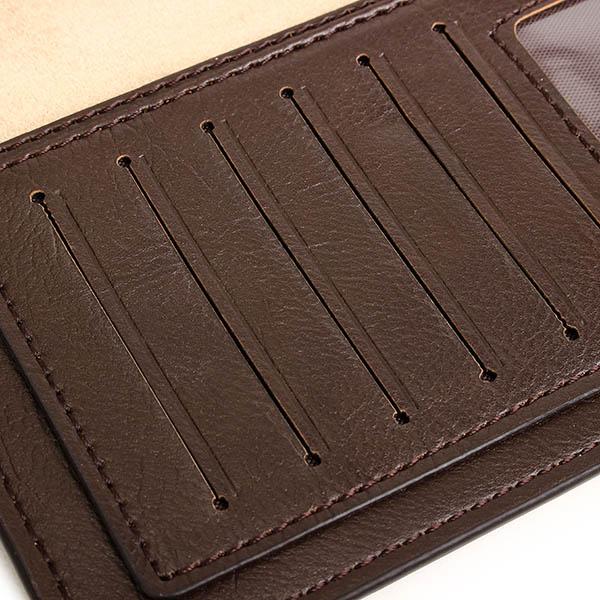 Men Bag, Business Long Genuine Leather, Portable Card Holders Wallet