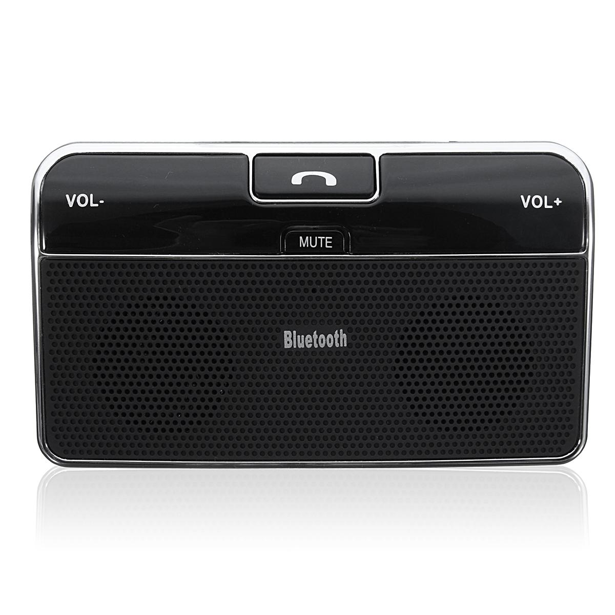 Silm Wireless Bluetooth Handsfree Speaker Phone MP3 Car