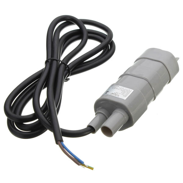 12V 5M Pumping Head Mini Submersible Motor Garden Fountain DC Brush Water Pump submersible dc solar water pump for 30m deep well 12v 6l min