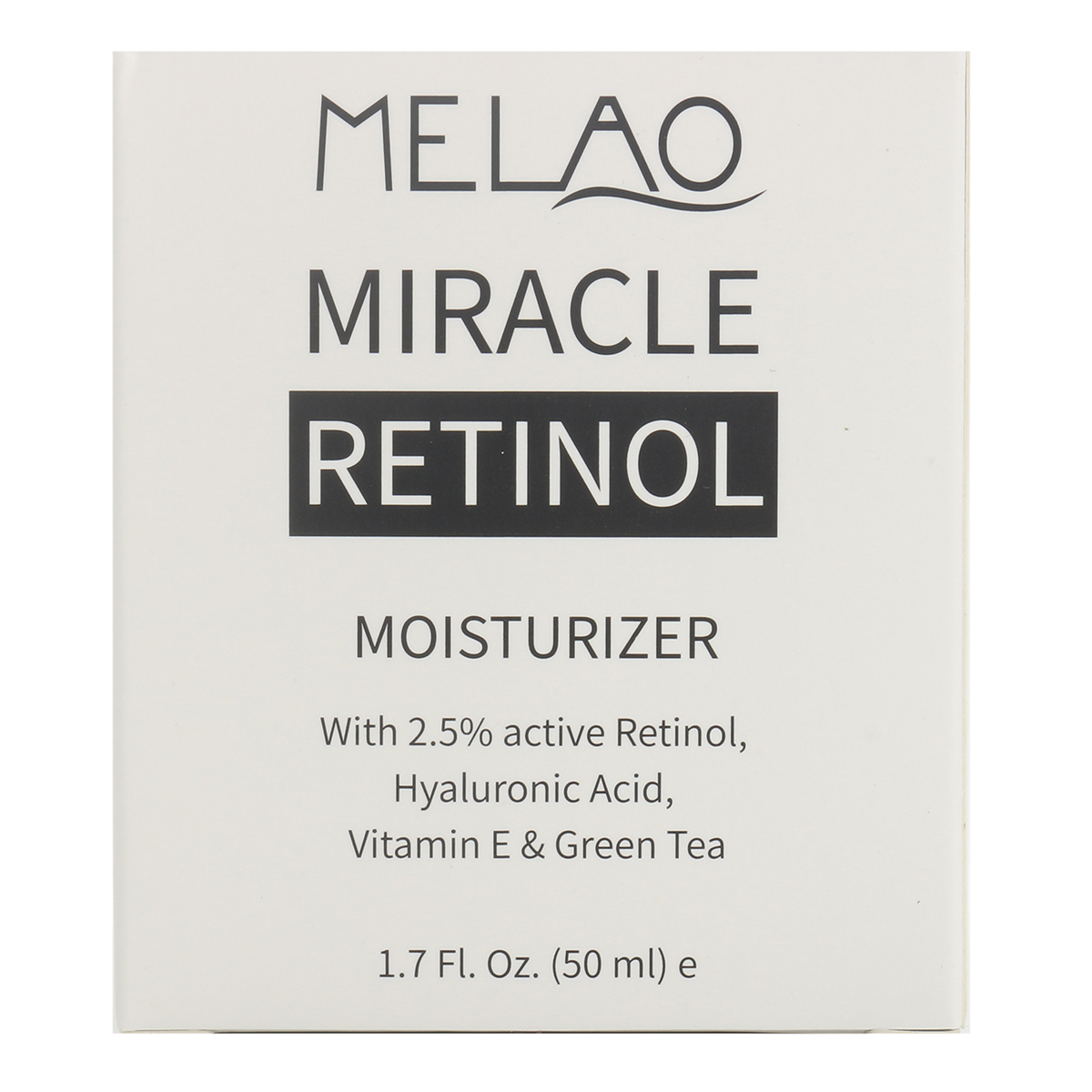 Anti Wrinkles Retinol Moisturizer Facial Cream Serum