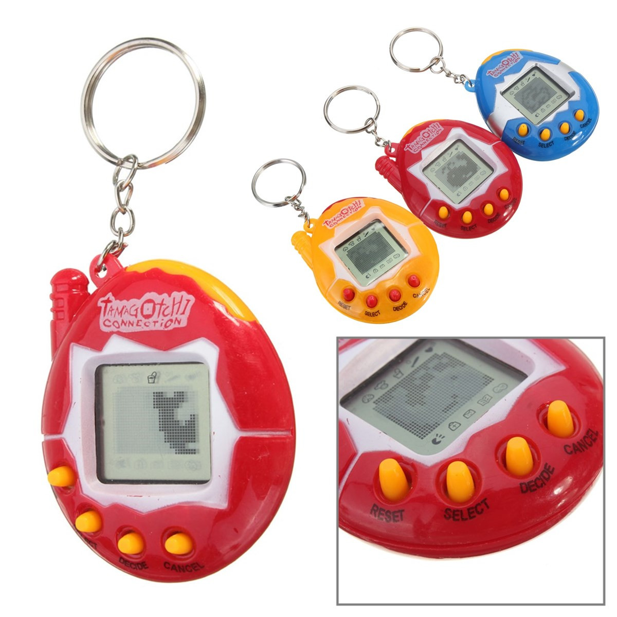 Retro Virtual Pet 49 In 1 Cyber Pets Animals Toy Funny Tamagotchi Kids Gift New (Eachine1) Chicago объявления о покупке