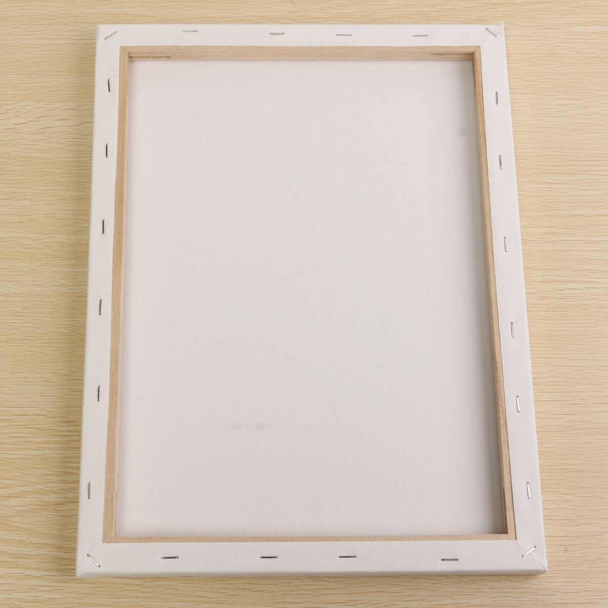 white blank square canvas board wooden frame art artist