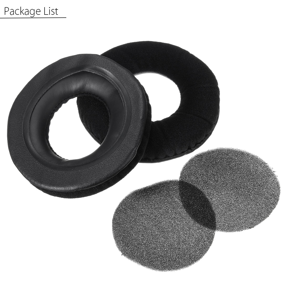 Earmuff Earbuds Ear Pad With Foam For Superlux HD668B HD669 Replacement