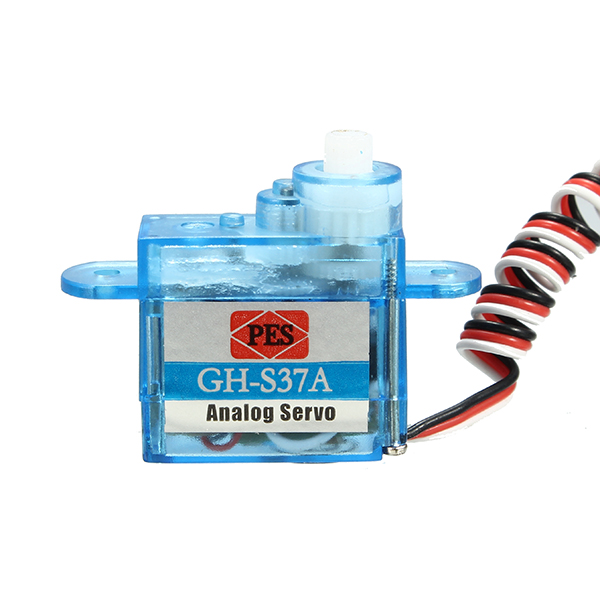 3.7g Micro Analog Servo GH-S37A For RC Airplane Helicopter - Photo: 5