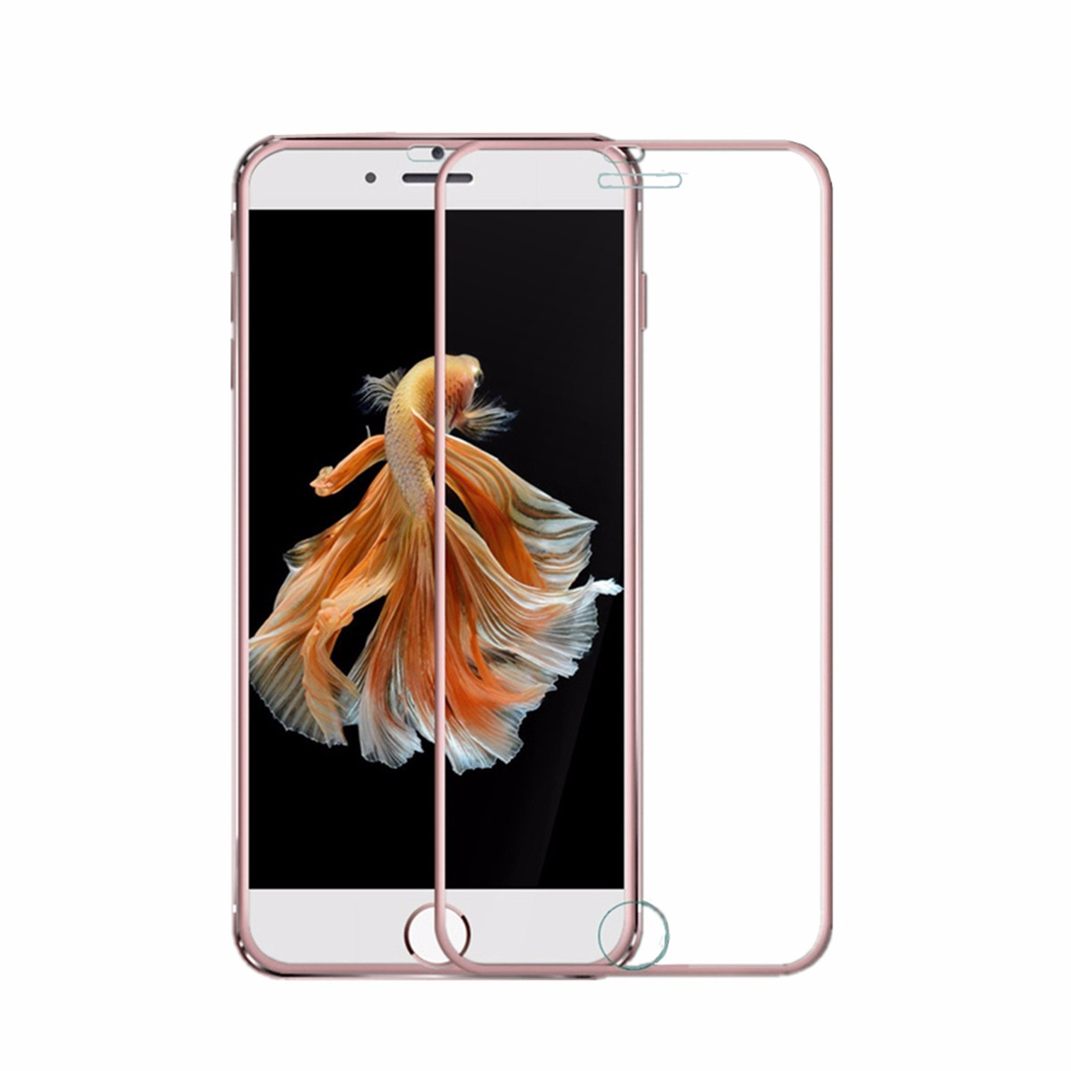 Ultra Thin 0.3mm 3D Curve Edge 9H Tempered Glass Screen Protector Cover For iPhone 7/ 7 Plus