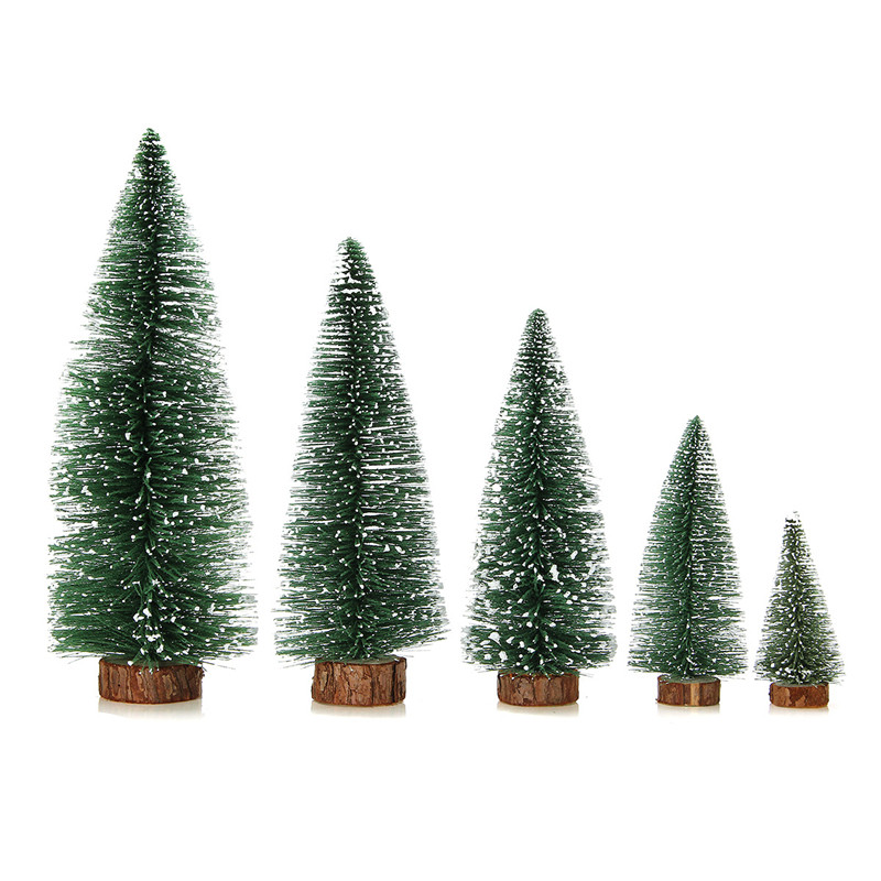 Mini Christmas Tree Home Wedding Decoration Supplies Artificial Tree A Small Pine Tree - Photo: 4
