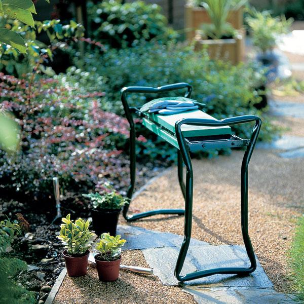 garden kneeler stool