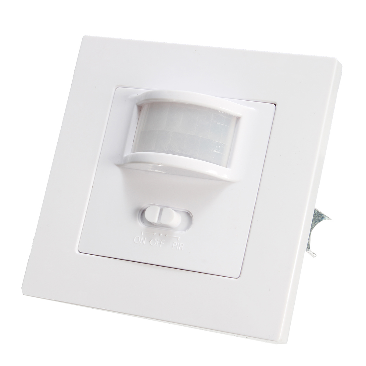 140 Degree Infrared PIR Motion Sensor Recessed Wall Lamp Bulb LED Strip Light Switch AC220-240V ...