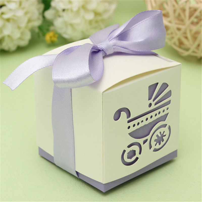 - Baby Stroller Candy Gift Box Wedding Baby Shower Party Gift Boxes ...