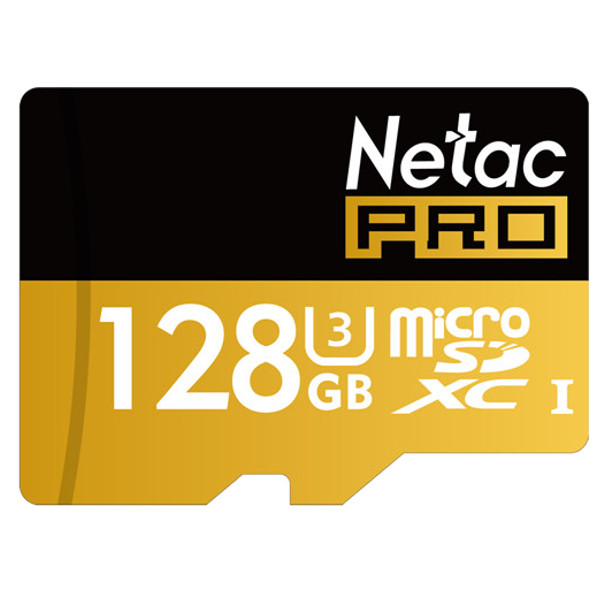 Netac Pro P500 128GB UHS-I U3 Micro SD SDXC Card TF Card For Cellphone