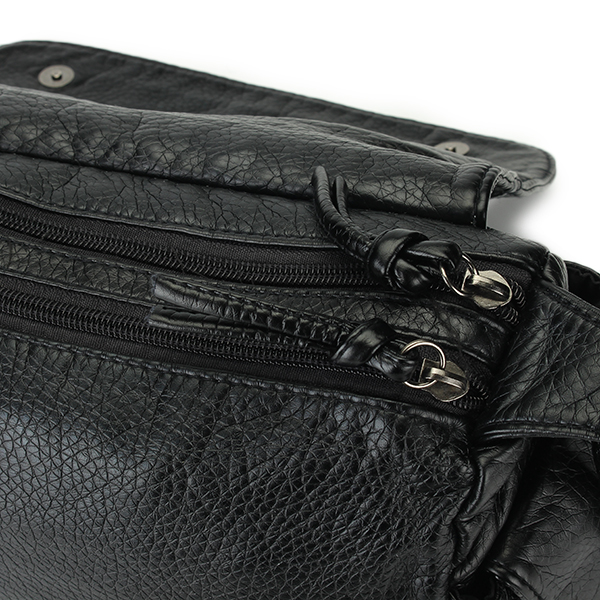 Rivet Messenger Bag