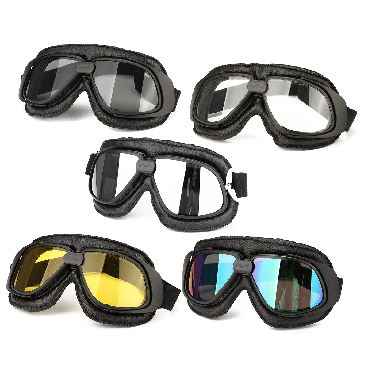 Motorcycle Goggles Motorbike Bike Helmet Eye Protection Glasses