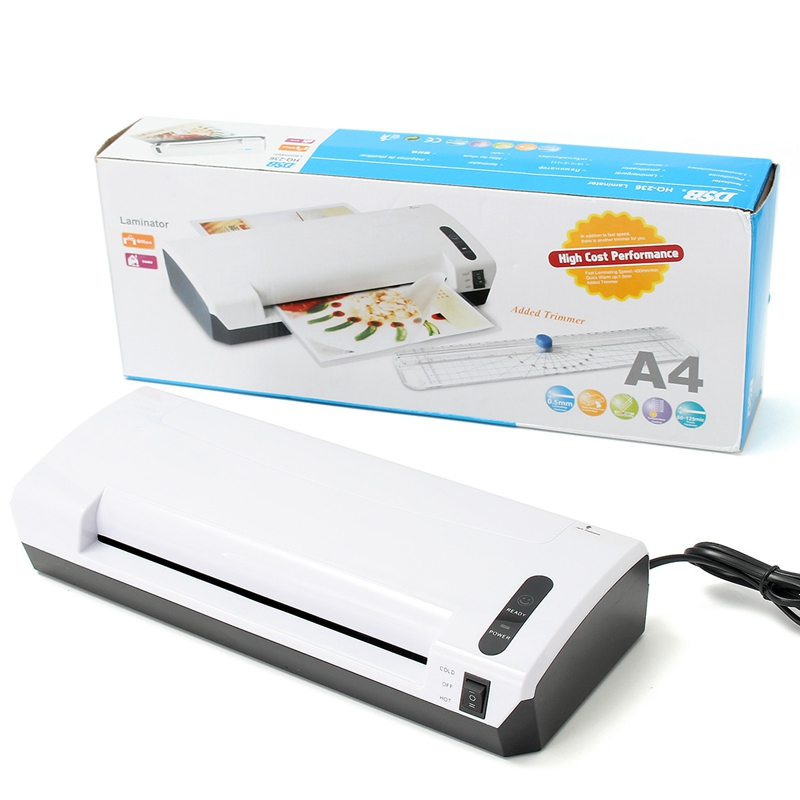 HQ-236 Laminator Thermal Photo Document Laminator Hot And Cold System Laminating Pouches Machine 35