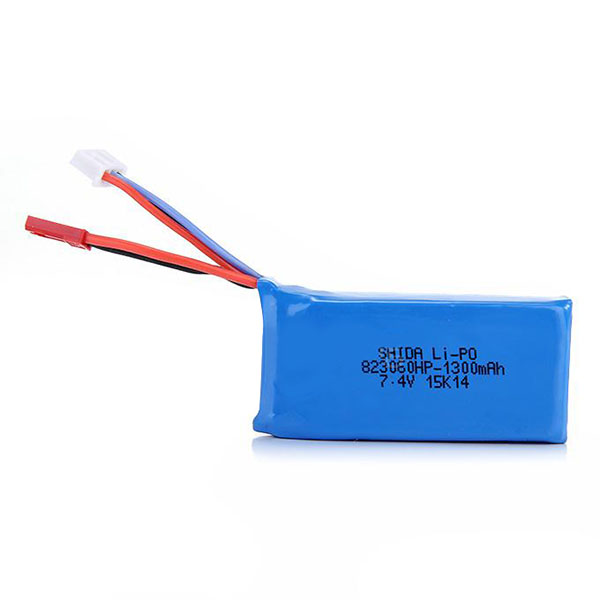 JJRC X1 RC Quadcopter Spare Parts 7.4V 1300mah Lipo Battery X1-011 mini s size pencil bag pencil case pen stationery storage art school office home supplies transparent pens holder fashion gifts