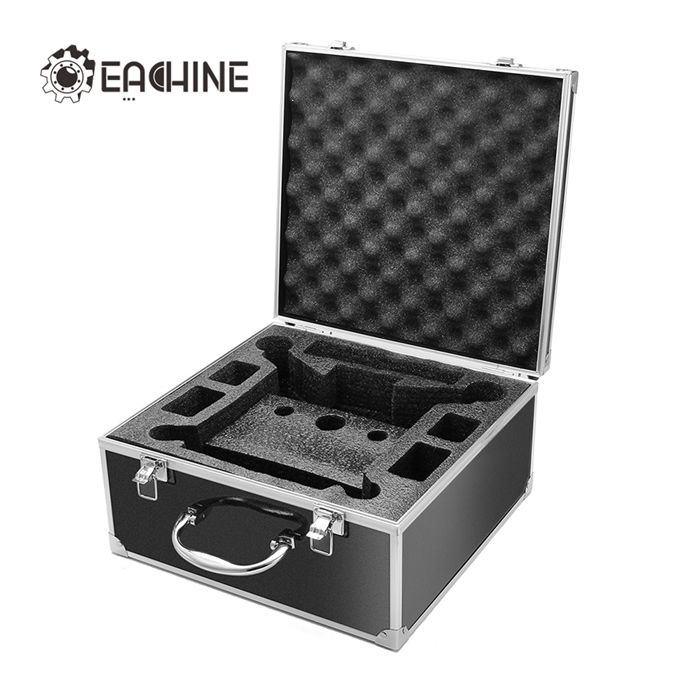 Eachine Racer 250 Aluminum Box For Eachine Racer 250 Drone I6 Radio Transmitter Parts for traxxas x maxx 4x4 upgrade parts aluminum rear knuckle arms hub carrier l r 7752 hop up