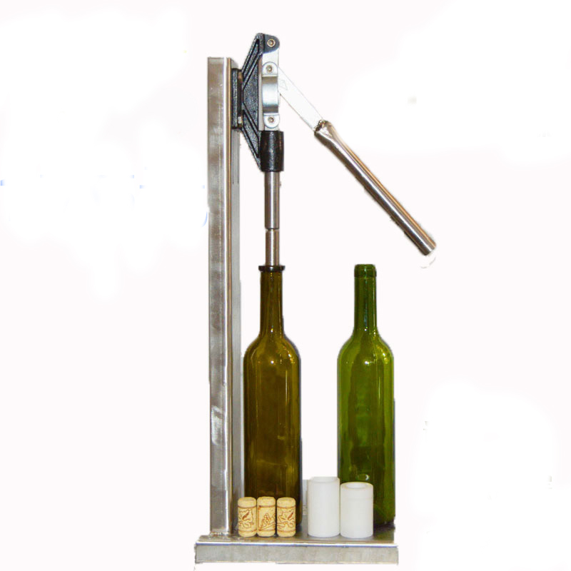 Buy Stainless Steel Manual Bottle Corking Machine Home Brew Wine Cap Pressing