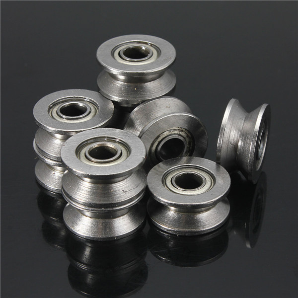 10pcs 624VV V Groove Sealed Ball Bearings Vgroove 4x13x6mm 1.5mm Deep Ball Bearings от Banggood INT