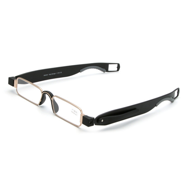 Men Women Portable 360 Rotation Folding Reading Glasses