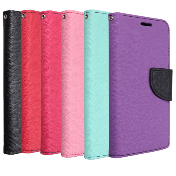 Buy Classic Flip PU Leather With Card Slot Stander Cover Case For LG G3 Mini